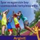 Spor ve boy uzaması Argivit